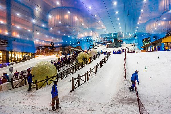 дубай молл горнолыжный курорт